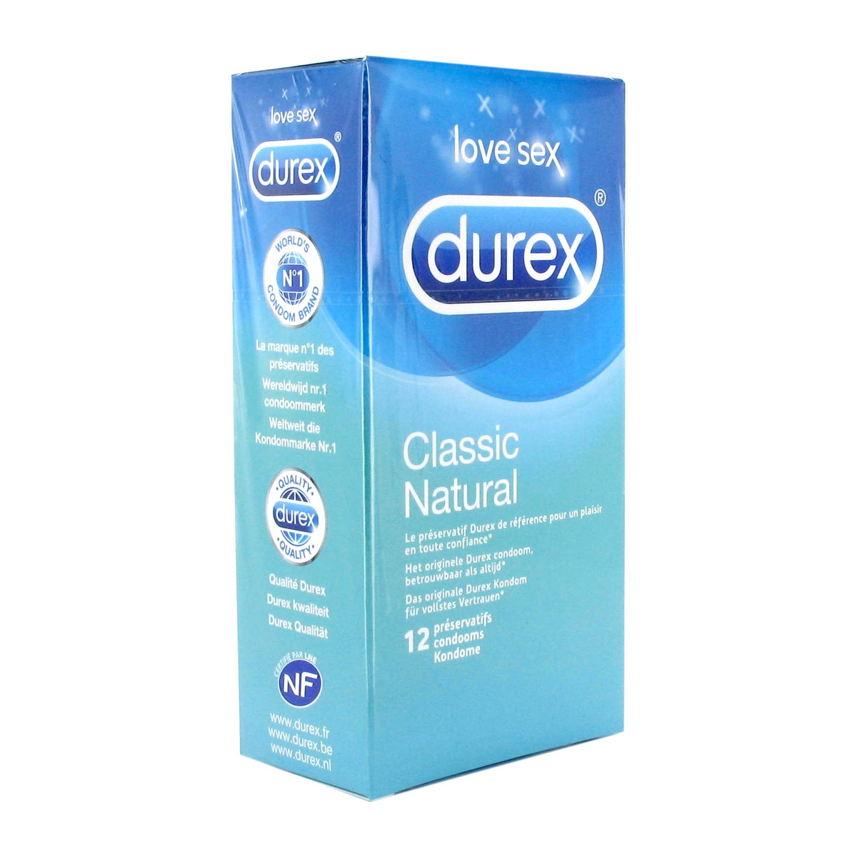Natural Durex (12 ks)