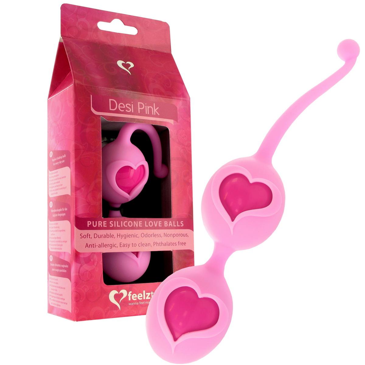 Venušiny kuličky Feelz Toys Desi růžové