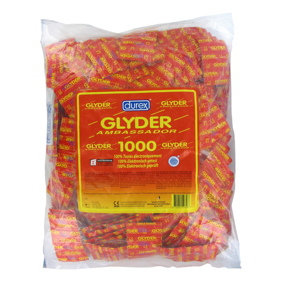 Kondomy Durex Glyder Ambassador (1000 ks)