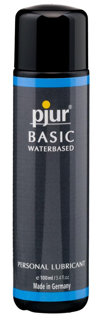 Lubrikační gel Pjur Basic Waterbased (100 ml)