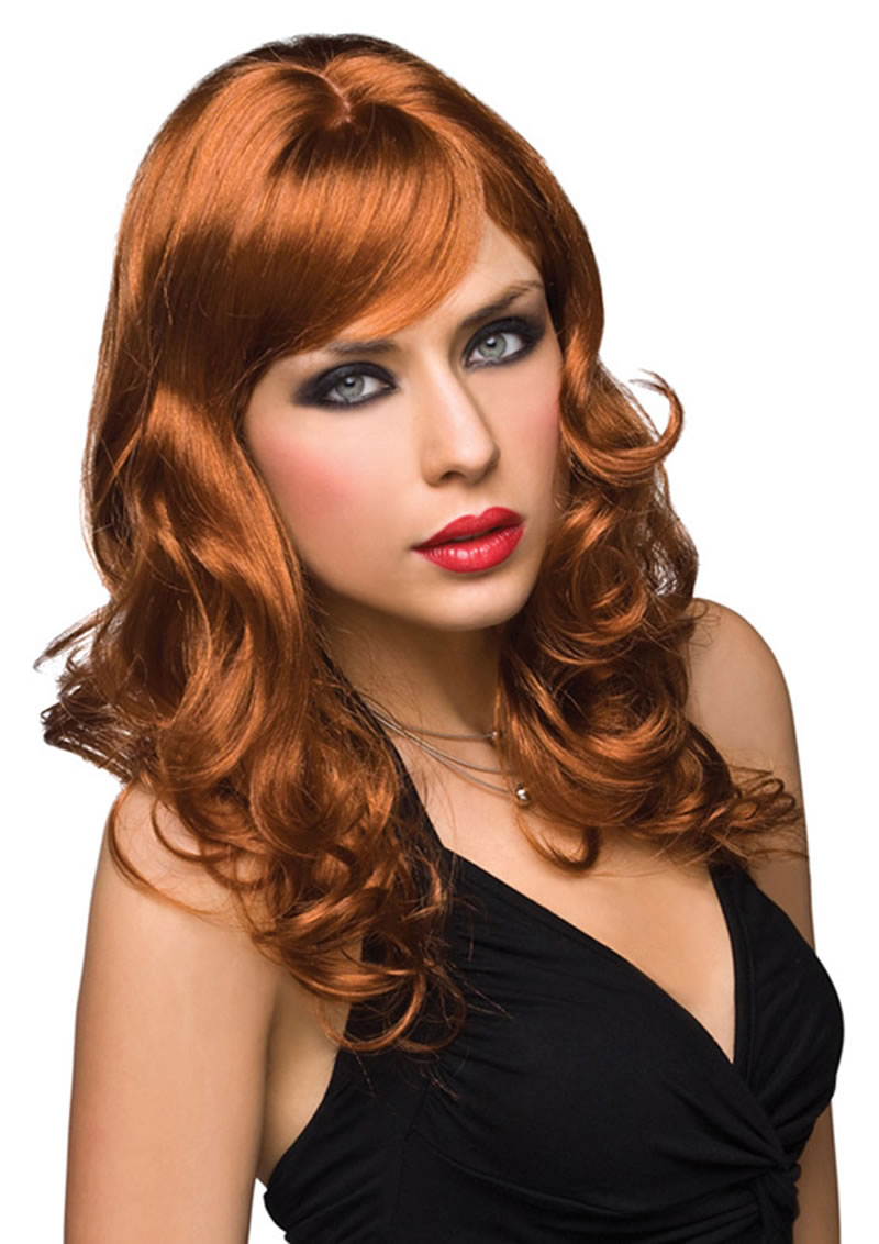Paruka Pleasure Wigs Aubrey red