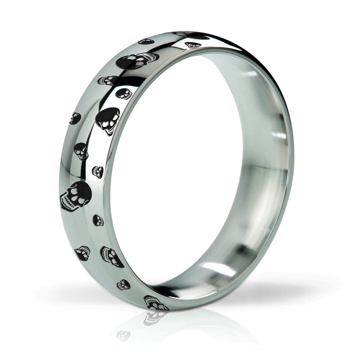 Mystim His Ringness Earl Polished and Engraved 55mm