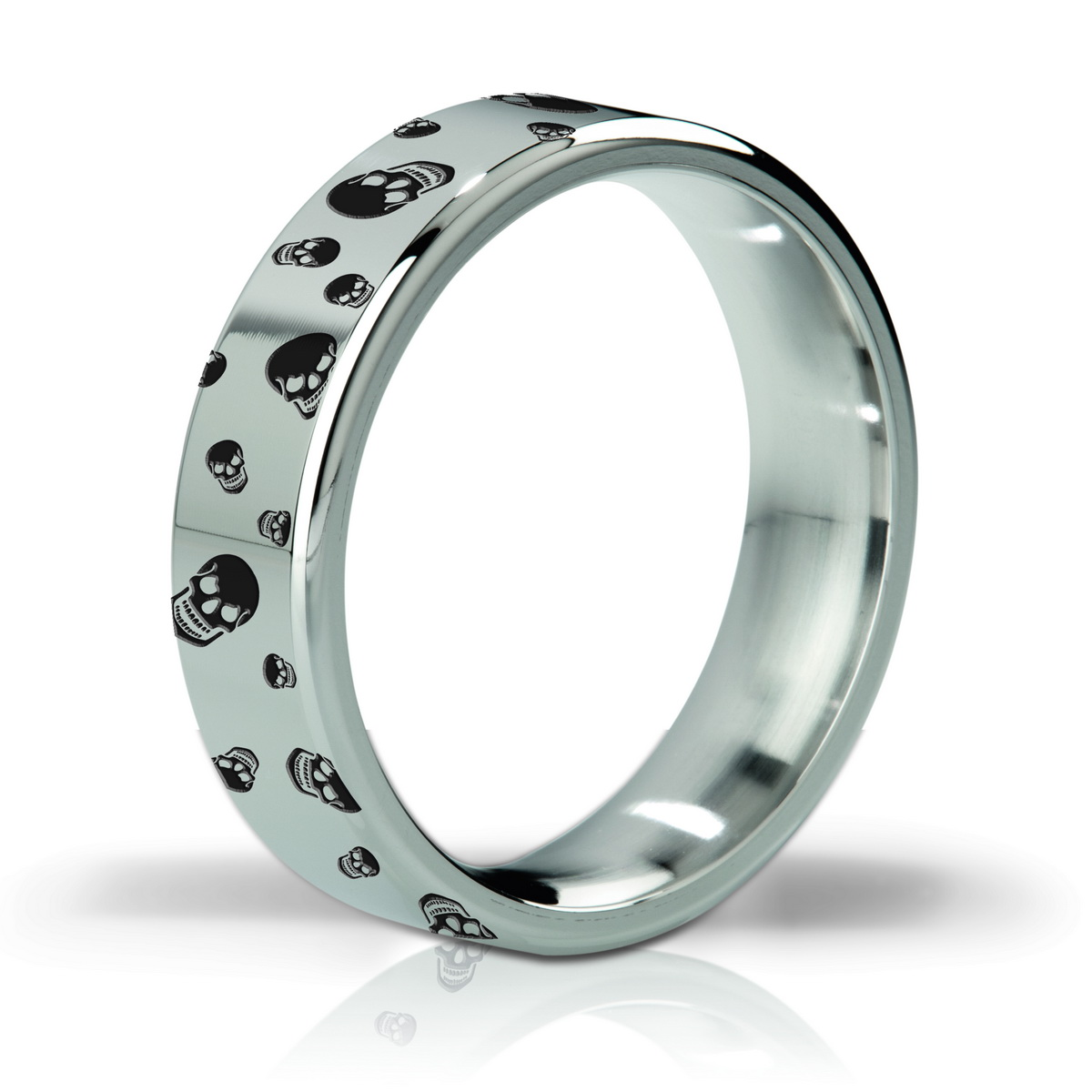 Mystim His Ringness Duke Polished and Engraved 55mm