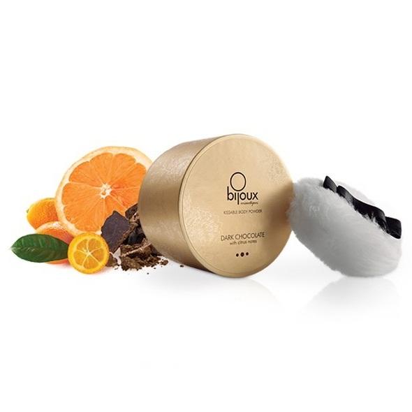Bijoux Cosmetiques - Tělový pudr Tmavá čokoláda