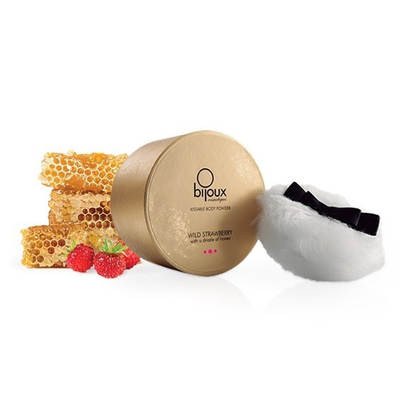 Bijoux Cosmetiques - Tělový pudr Divoká jahoda