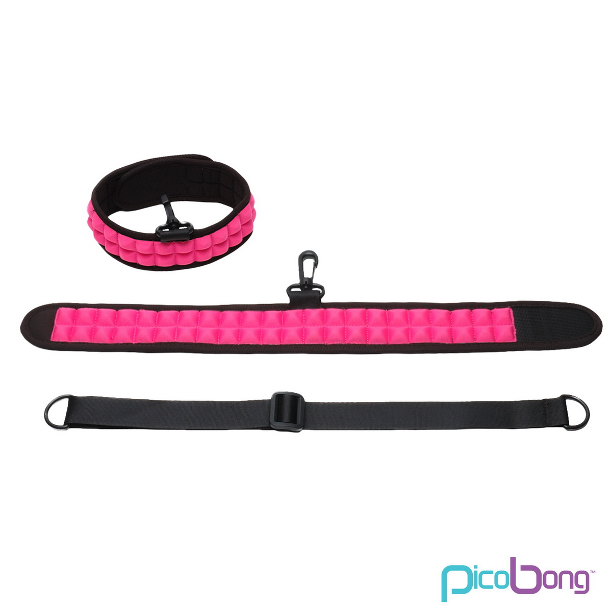 Obojek PicoBong Speak No Evil Choker Cerise