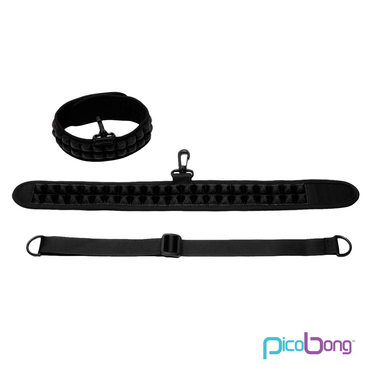 Obojek PicoBong Speak No Evil Choker Black