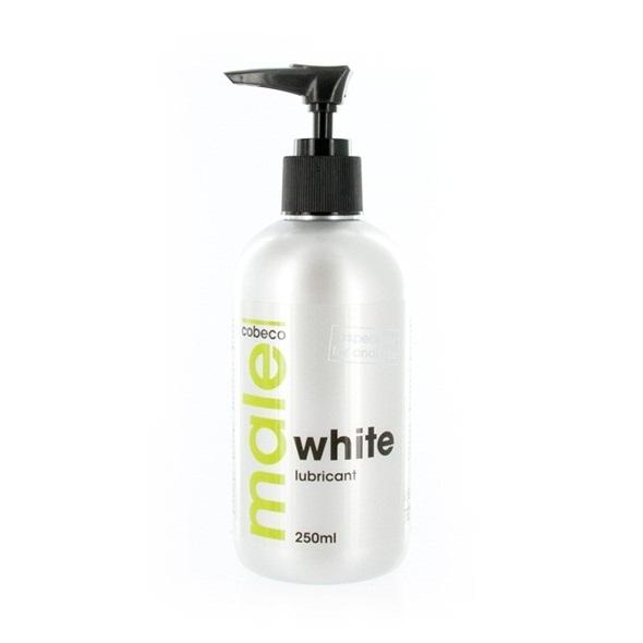 Pánský anální lubrikant - bílý (250 ml)