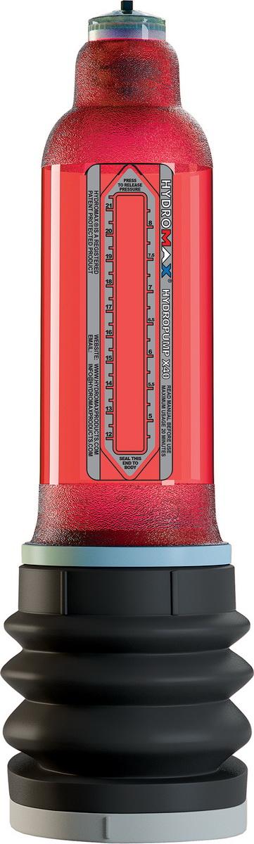 Pumpa Bathmate Hydromax X40 (černo-červená)