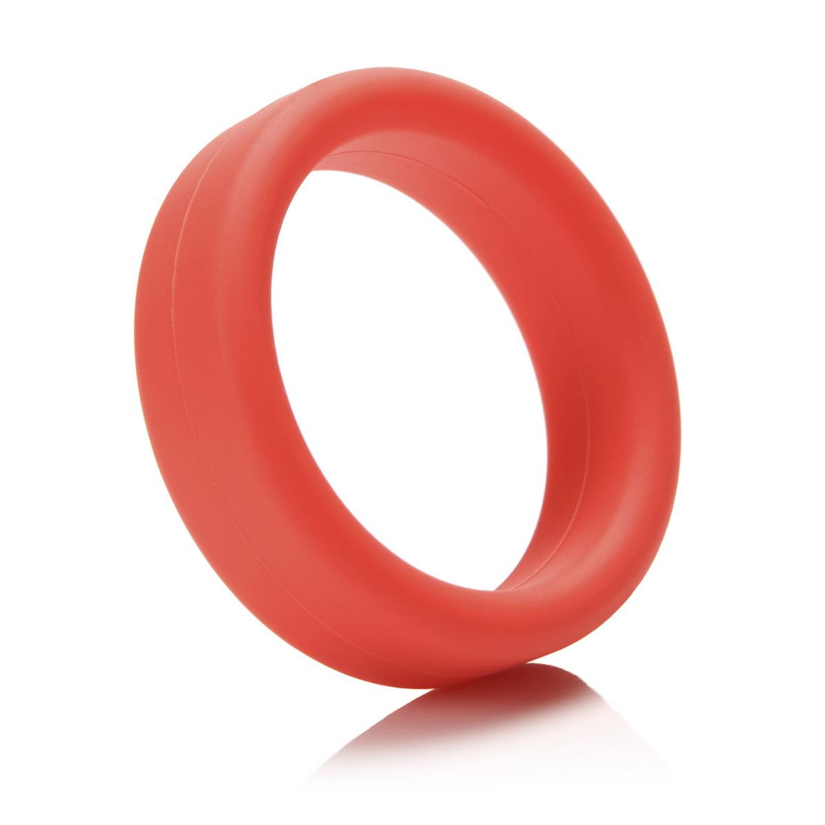 Tantus - erekční kroužek C-Ring red