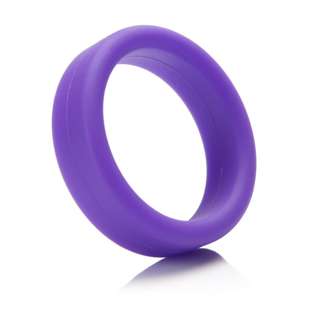 Tantus - erekční kroužek C-Ring purple