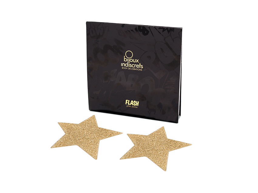 Bijoux Indiscrets - ozdoby Flash Star Gold