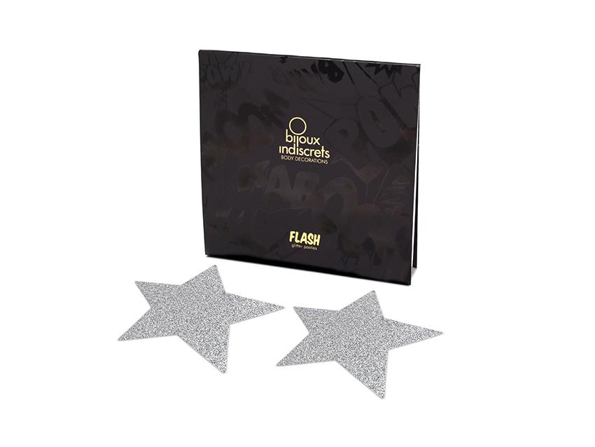 Bijoux Indiscrets - ozdoby Flash Star Silver