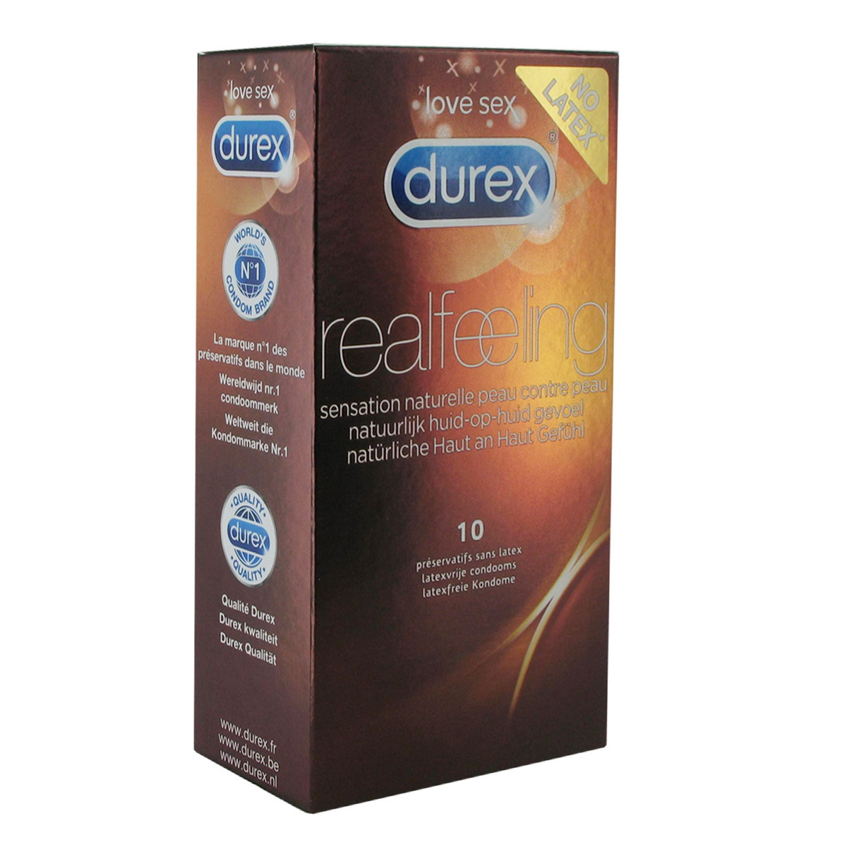 Kondomy Durex Real Feeling (10 ks)