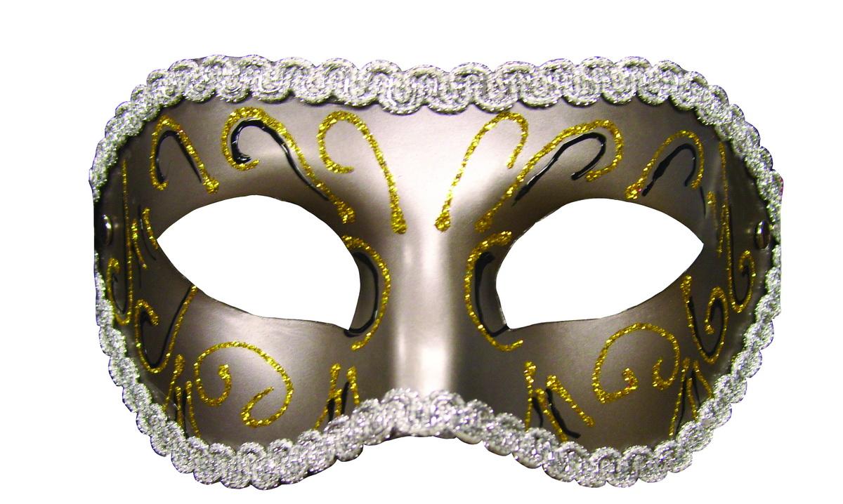 Zlatá maškarní maska