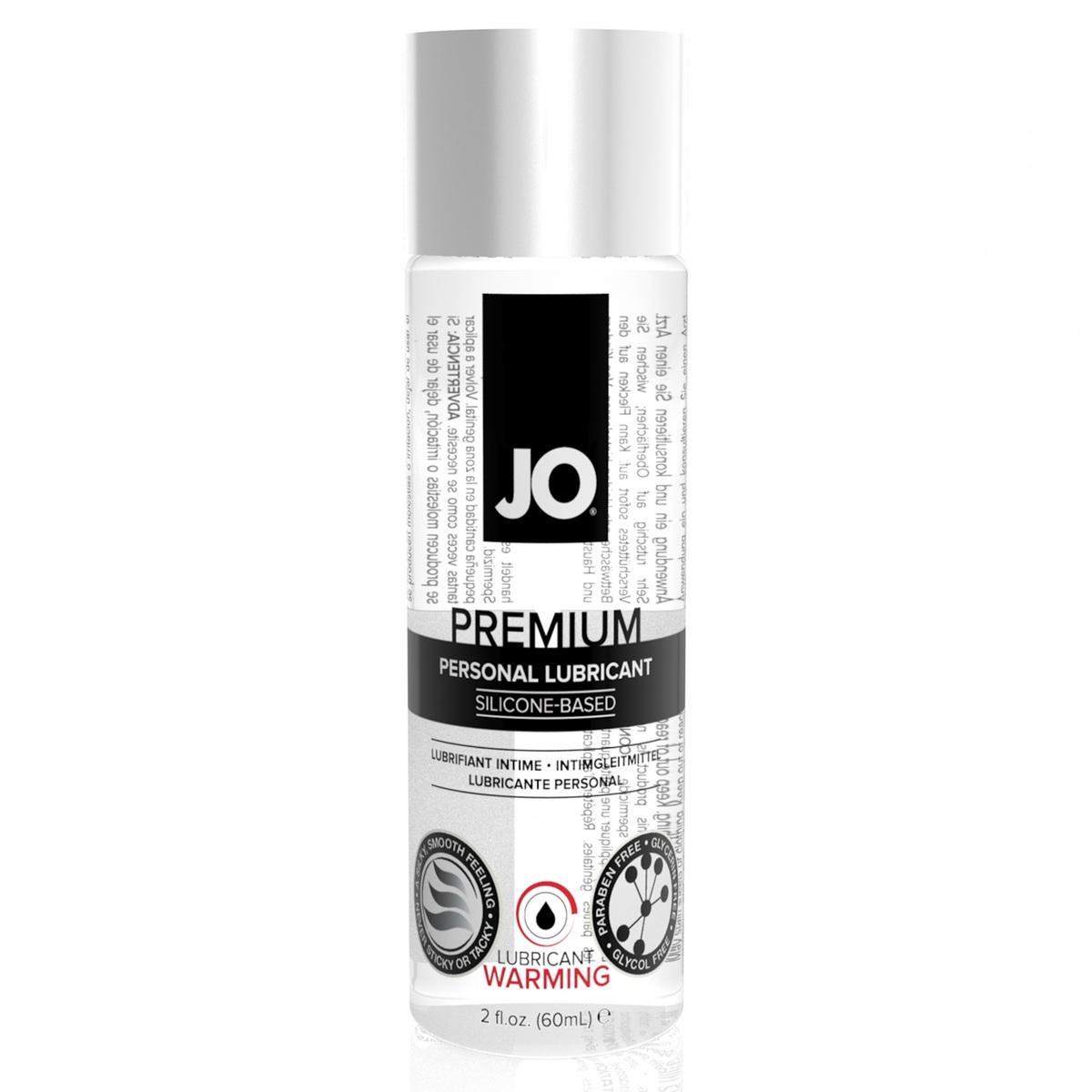 Silikonový hřejivý lubrikant JO (75 ml)