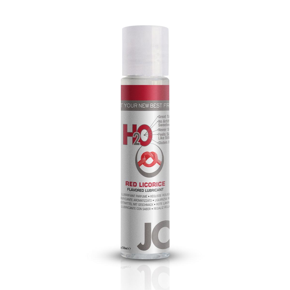 System JO - H2O Lubrikant s příchutí červené lékořice (30 ml)