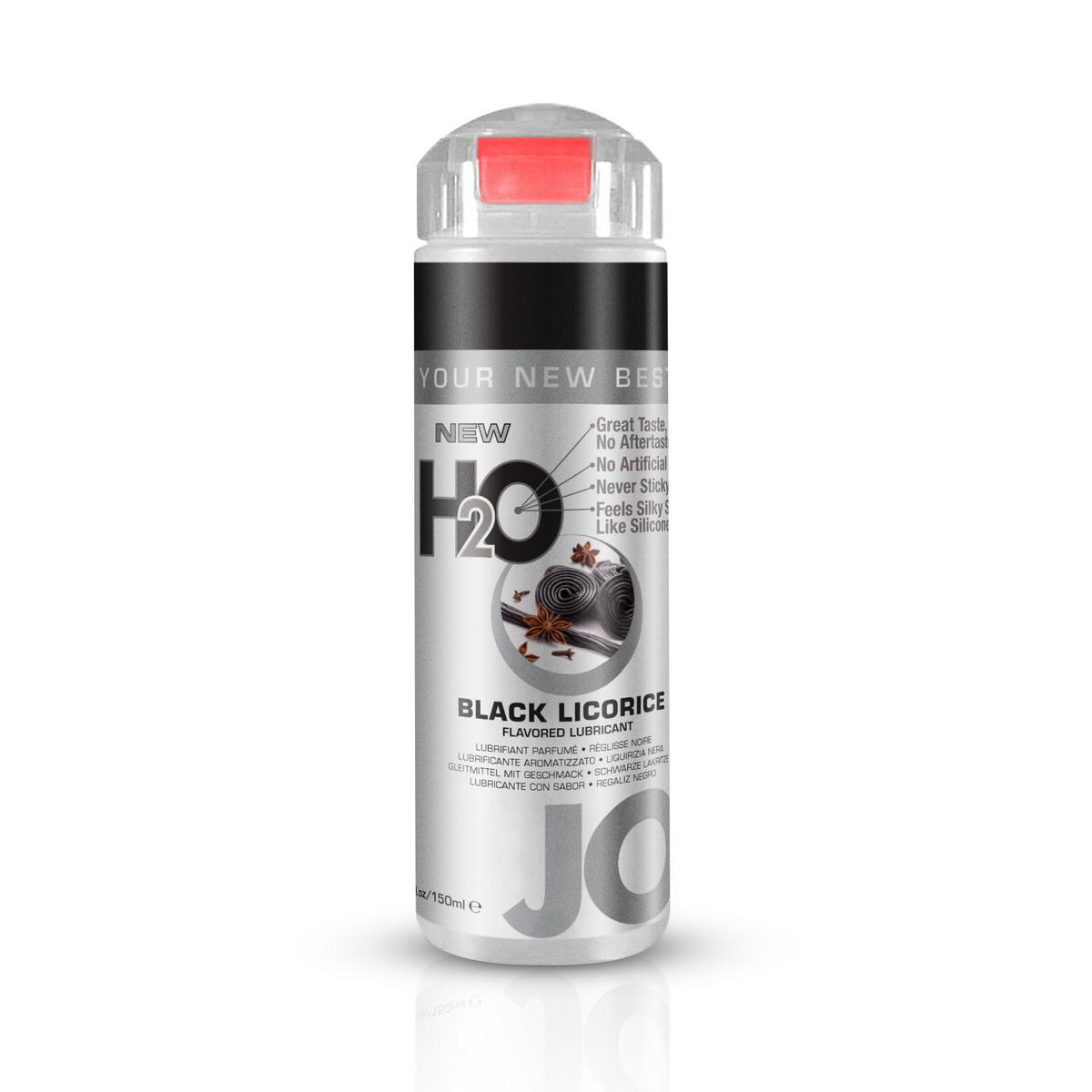 System JO - H2O Lubrikant s příchutí černé lékořice (150 ml)
