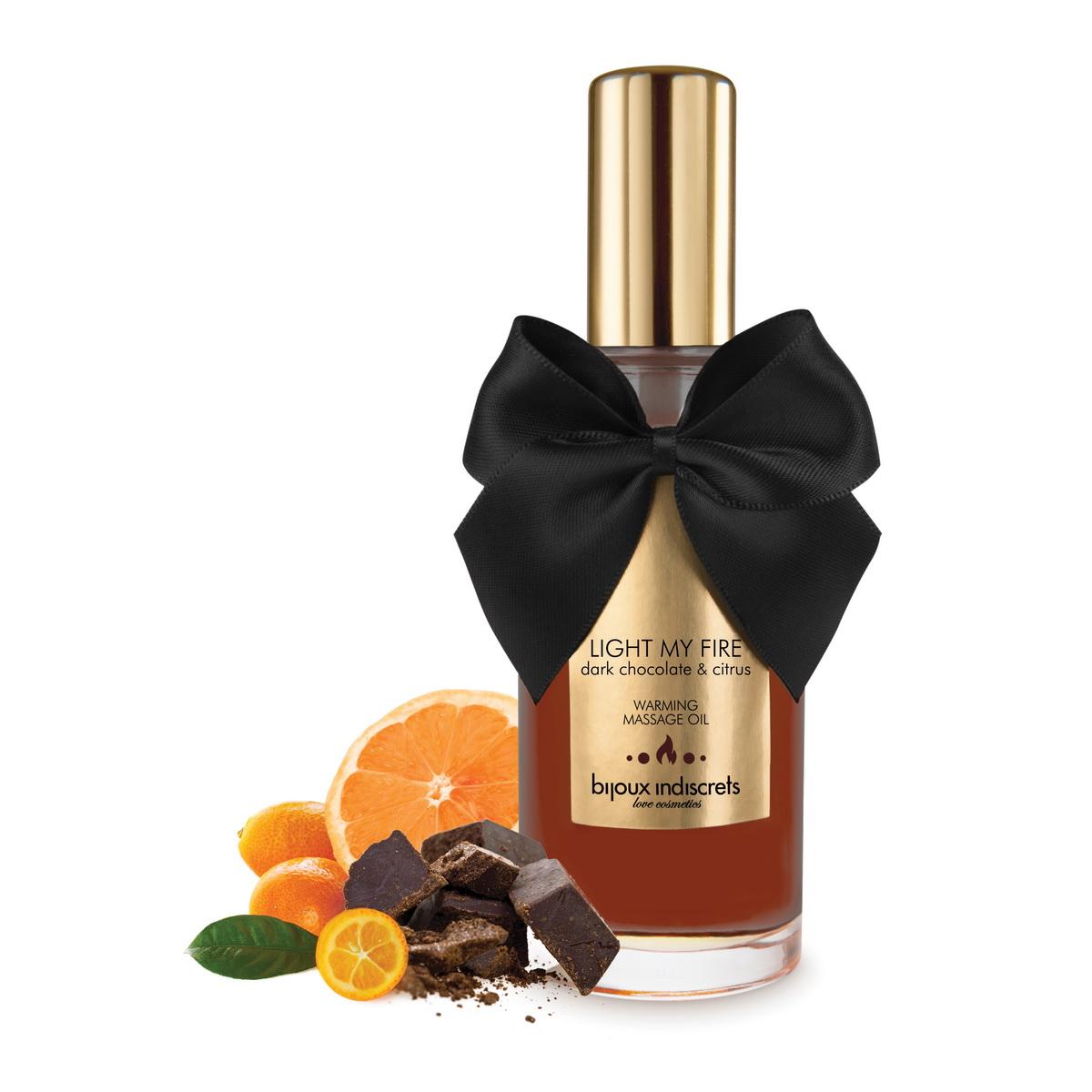 Bijoux Cosmetiques - Hřejivý olej Dark Chocolate