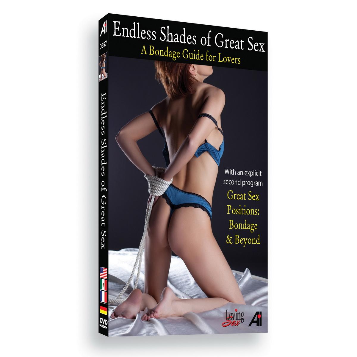 Náučné DVD - Nekonečné odstíny skvělého sexu