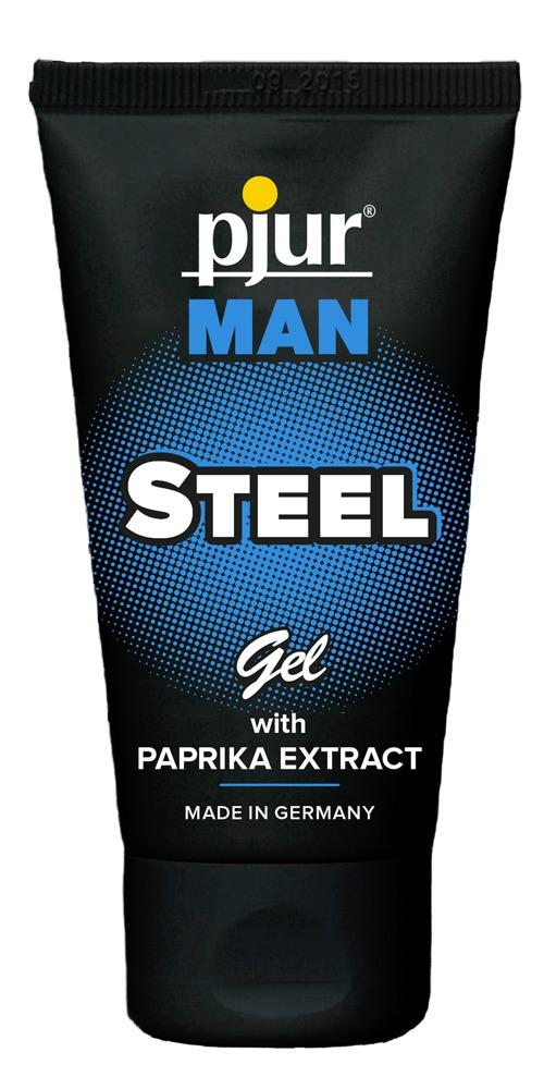 Masážní gel Pjur Man Steel (50 ml)