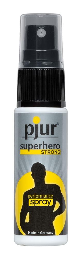 Znecitlivující sprej Pjur Superhrdina Strong (20 ml)