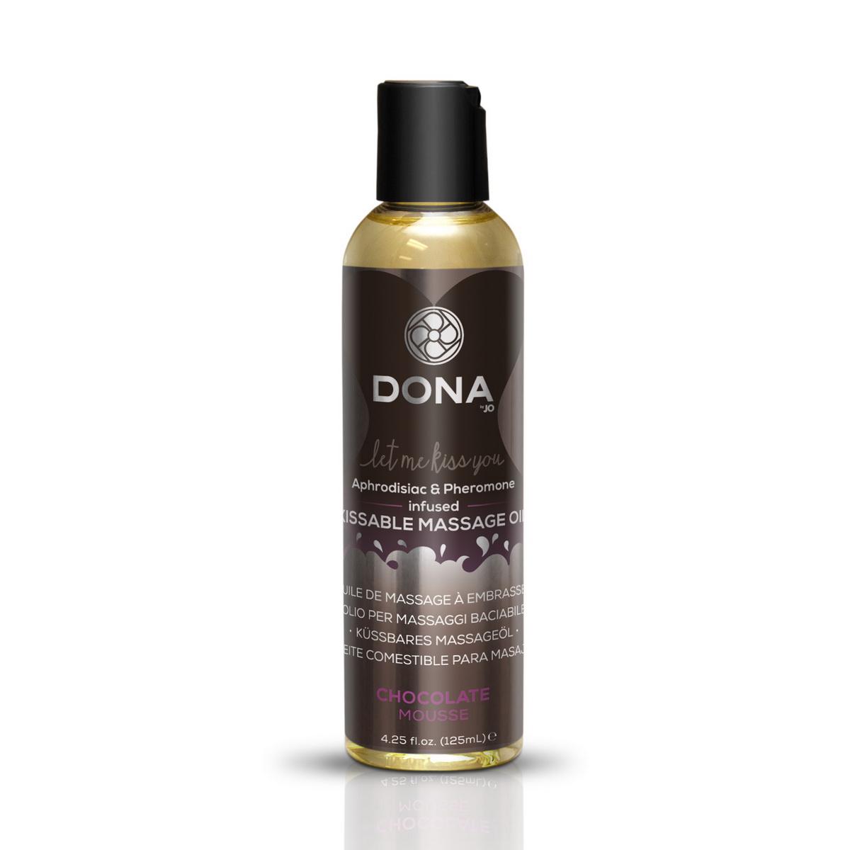 Jedlý masážní olej Chocolate Mousse (125 ml)