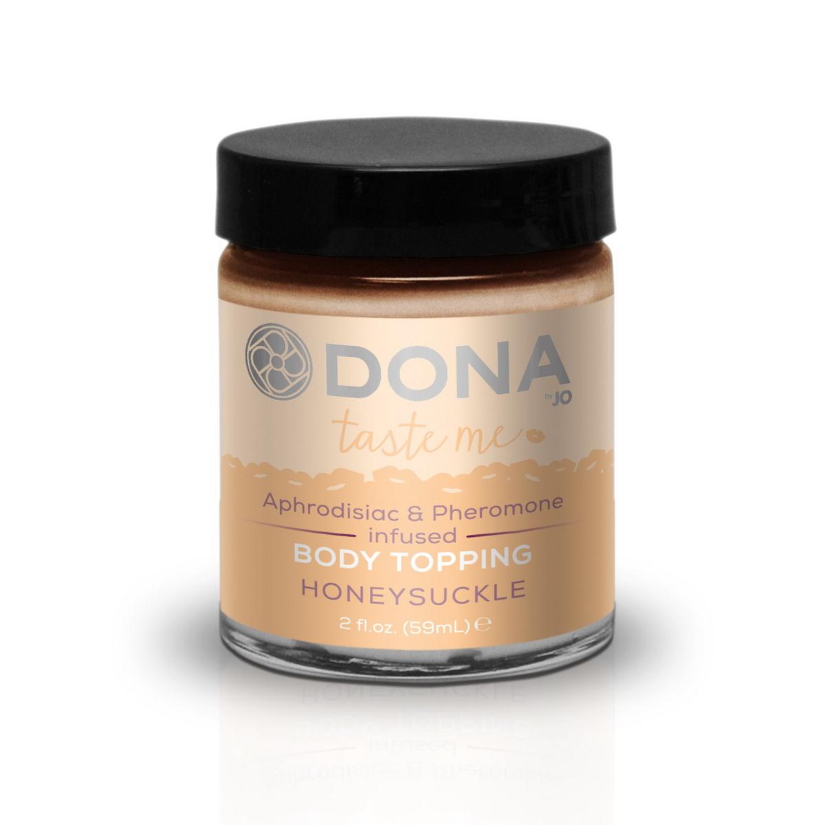 Jedlá tělová poleva Honeysuckle (60 ml)