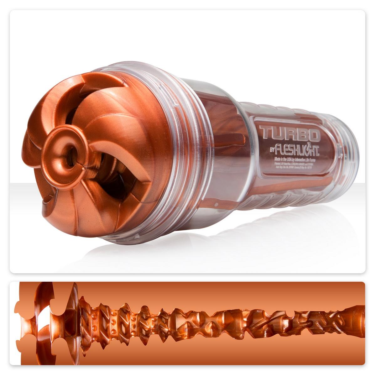 Masturbátor Fleshlight Turbo Thrust Copper
