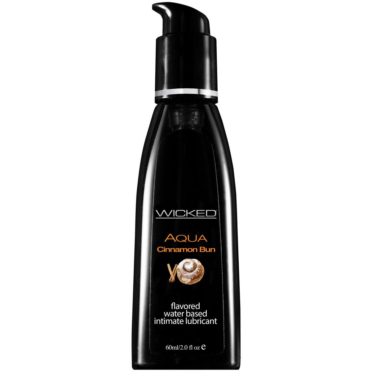 Lubrikant Wicked - Aqua Cinnamon Bun (60 ml)