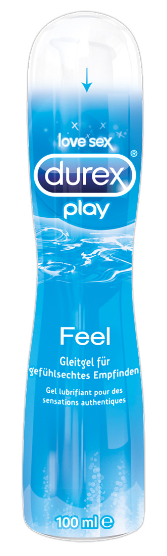 Play Feel lubrikační gel Durex (100 ml)