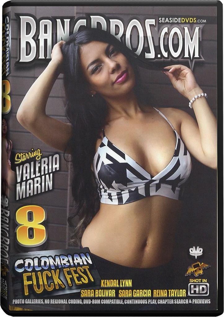 DVD - Colombian Fuck Fest 8