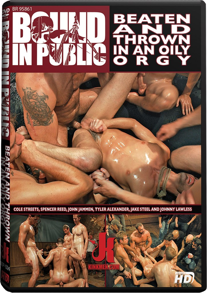 DVD - Beaten and Thrown in an Oily Orgy