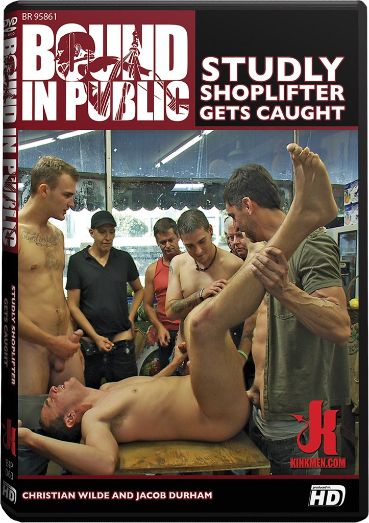 DVD - Studly shoplifter Gets Caught