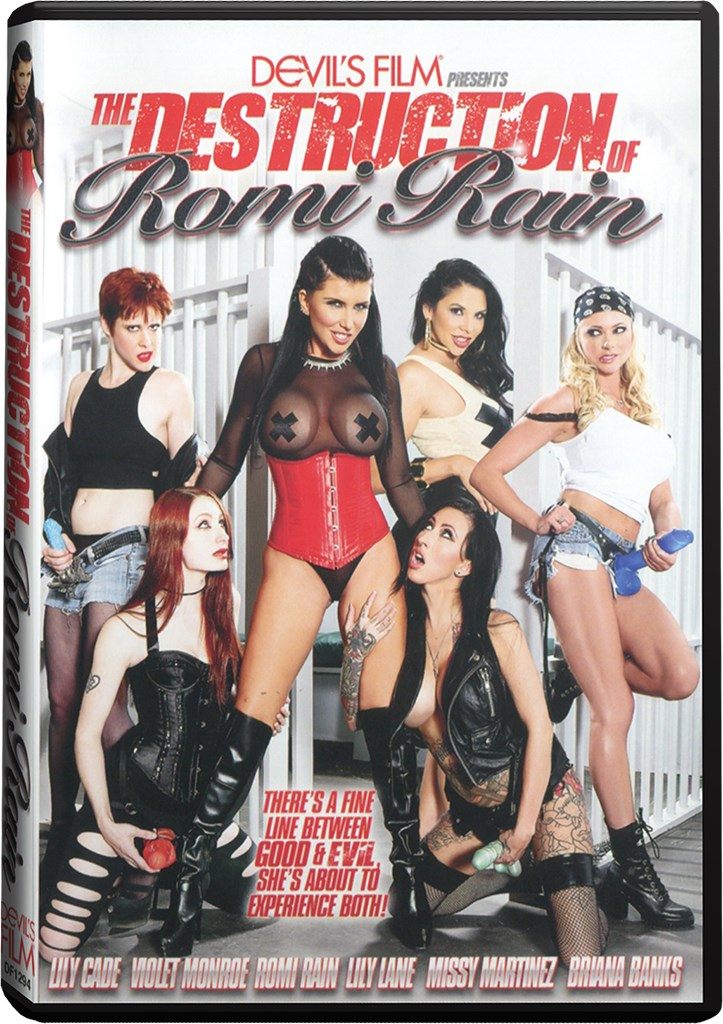 DVD - The Destruction Of Romi Rain