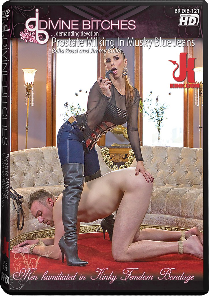 DVD - Prostate Milking In Musky Blue Jeans