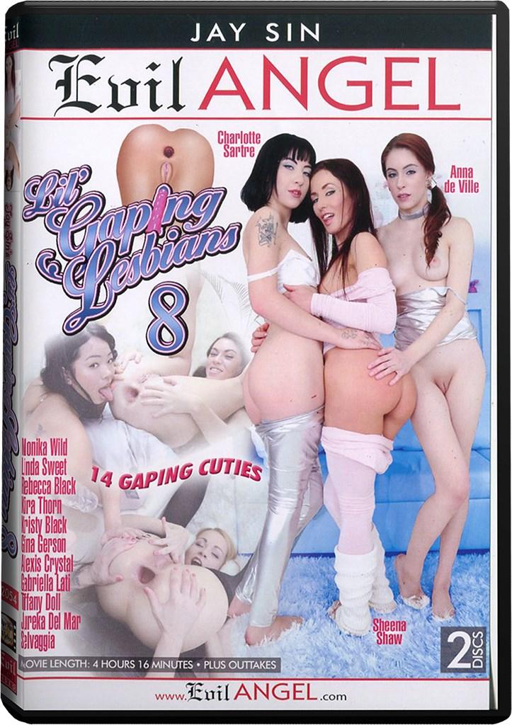 DVD - Lil' Gaping Lesbians 8