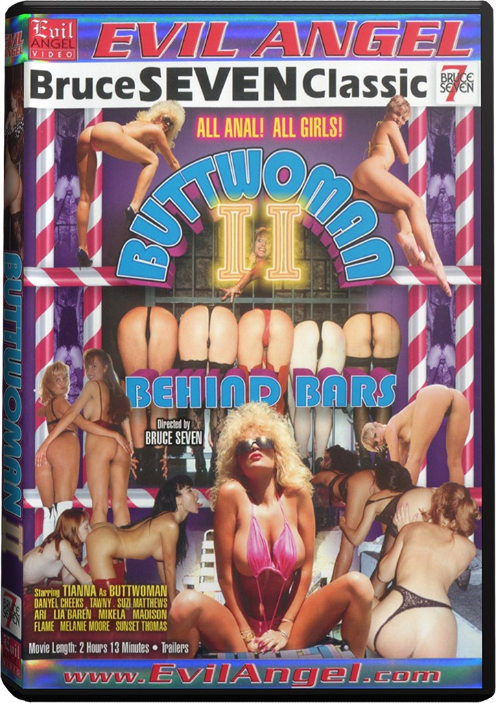 DVD - Buttwoman 2: Behind Bars