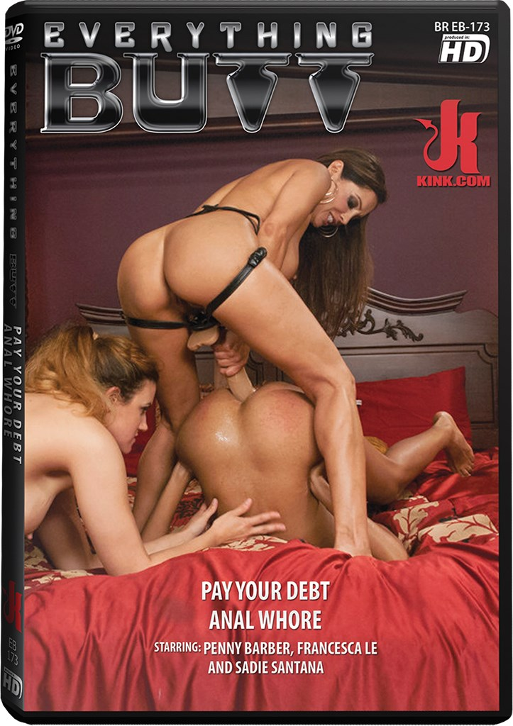 DVD - Pay Your Debt Anal Whore