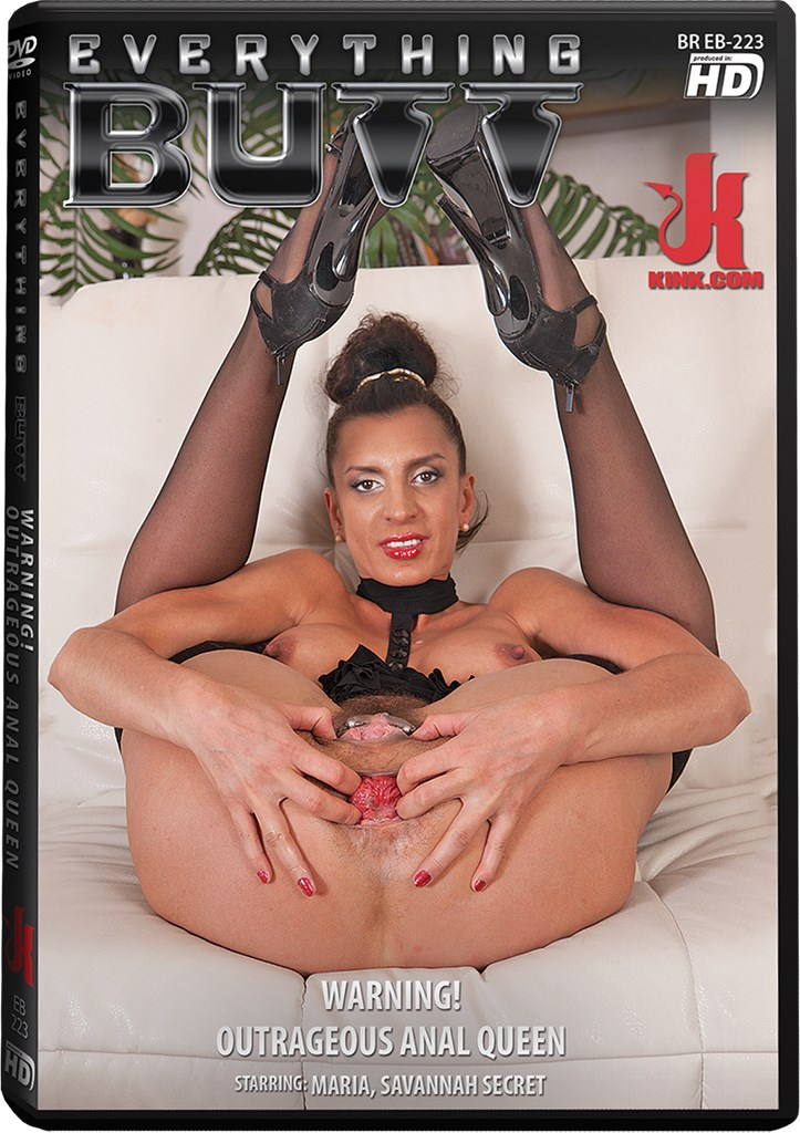 DVD - Warning! Outrageous Anal Queen