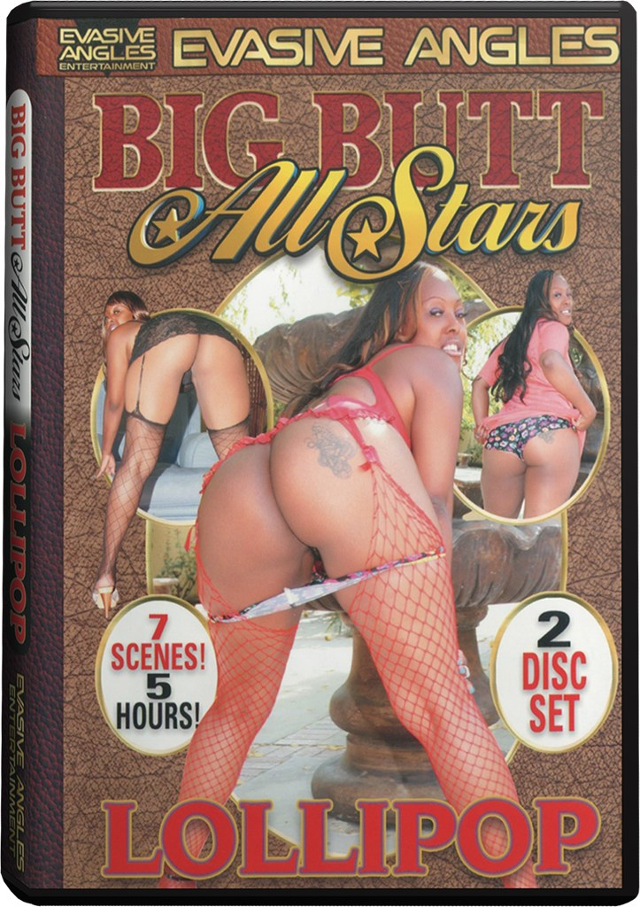 DVD - Big Butt All Stars - Lollipop