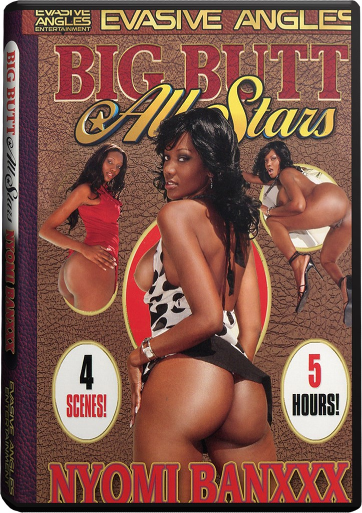 DVD - Big Butt All Stars - Nyomi Bankxxx