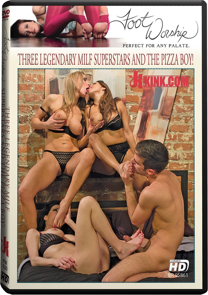 DVD - Three Legendary MILF Superstars and the Pizza Boy!
