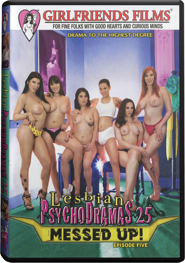 DVD - Lesbian Psychodramas Vol. 25: Messed Up!