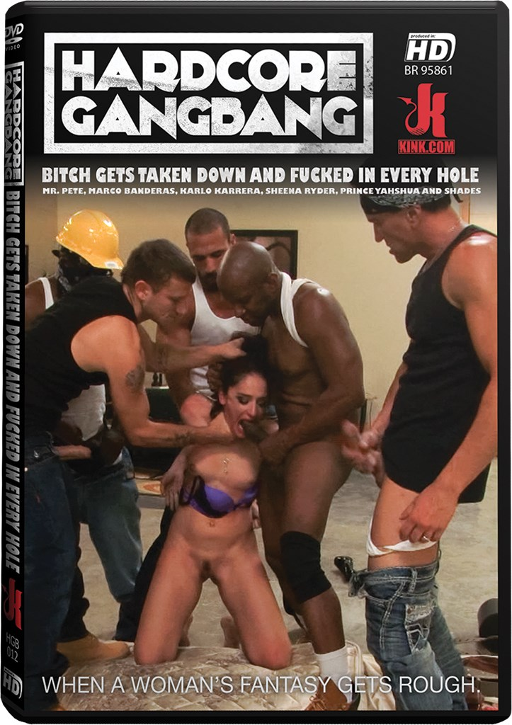 DVD - Bitch Gets Taken Down and Fucked in Every Hole
