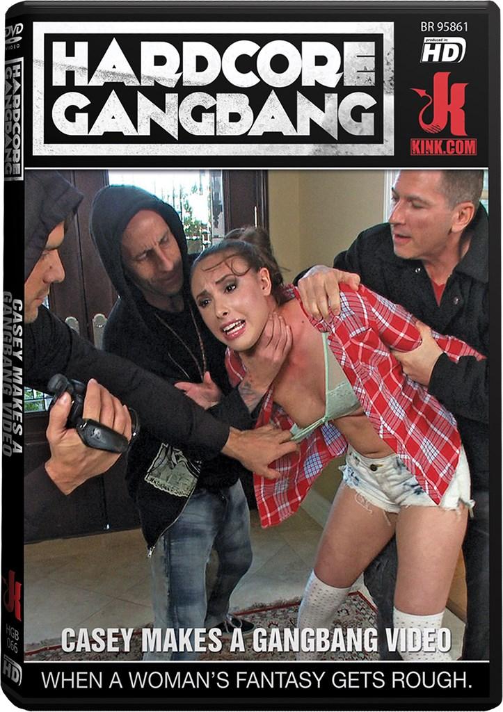 DVD - Casey Makes a Gangbang Video