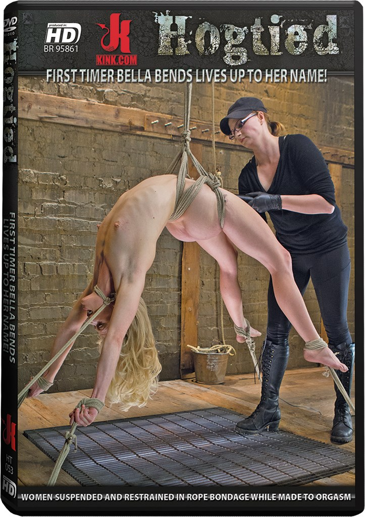 DVD - First Timer Bella Bends Lives up to Her Name!