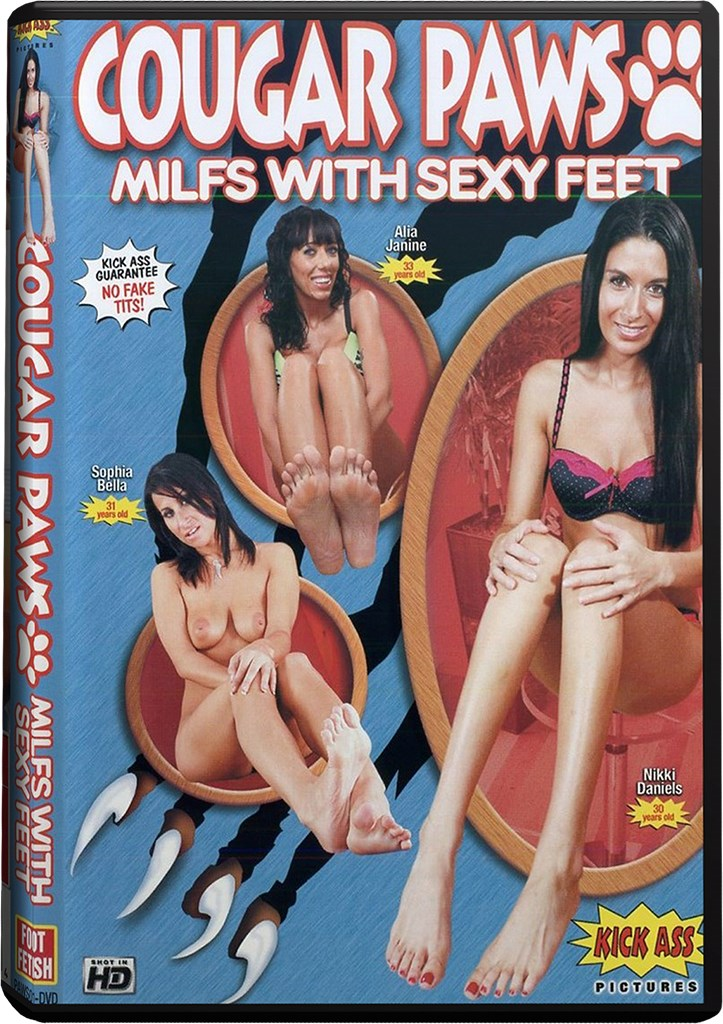DVD - Cougar Paws - MILFs With Sexy Feet