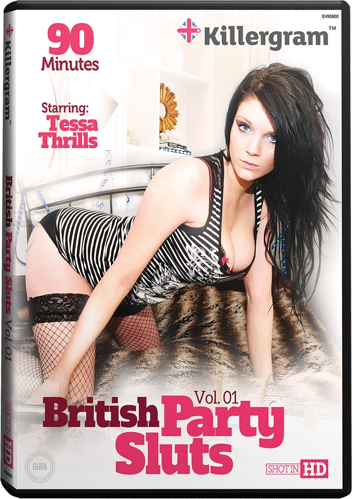 DVD - British Party Sluts Vol. 1