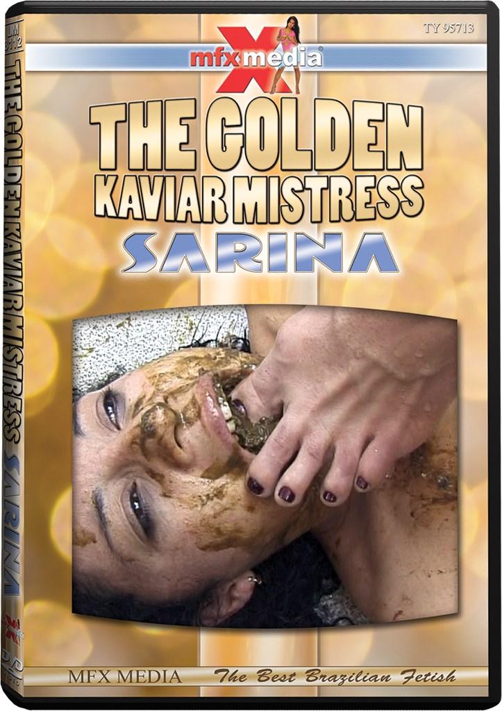 DVD - The Golden Kaviar Mistress Sarina